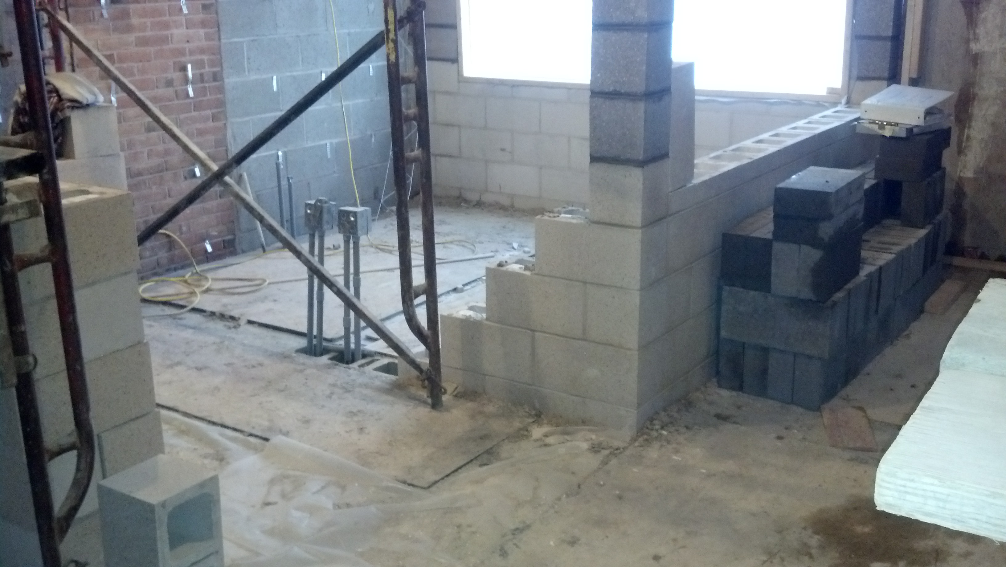 3-12-14 Admission Booth Wall Construction
