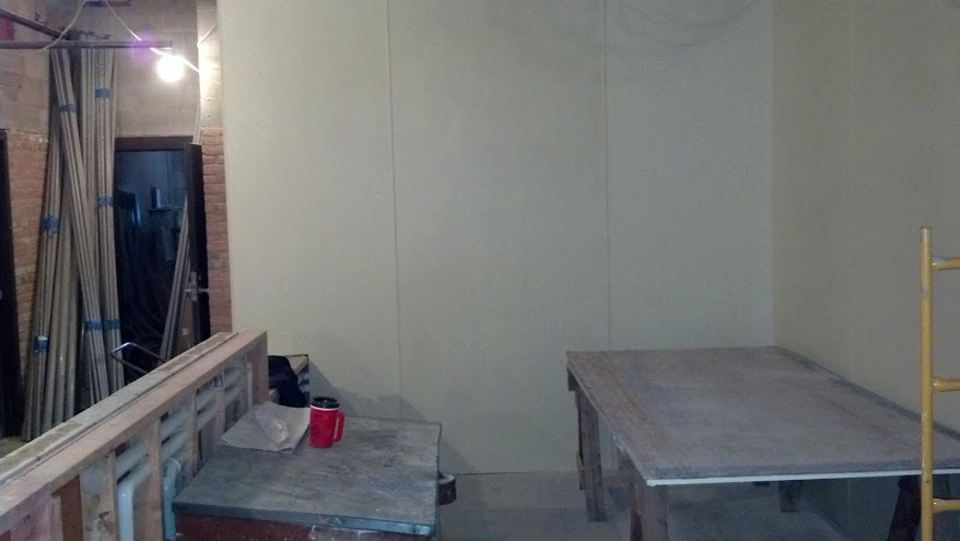 3-18-14 Snack Bar Counter and FRP Walls