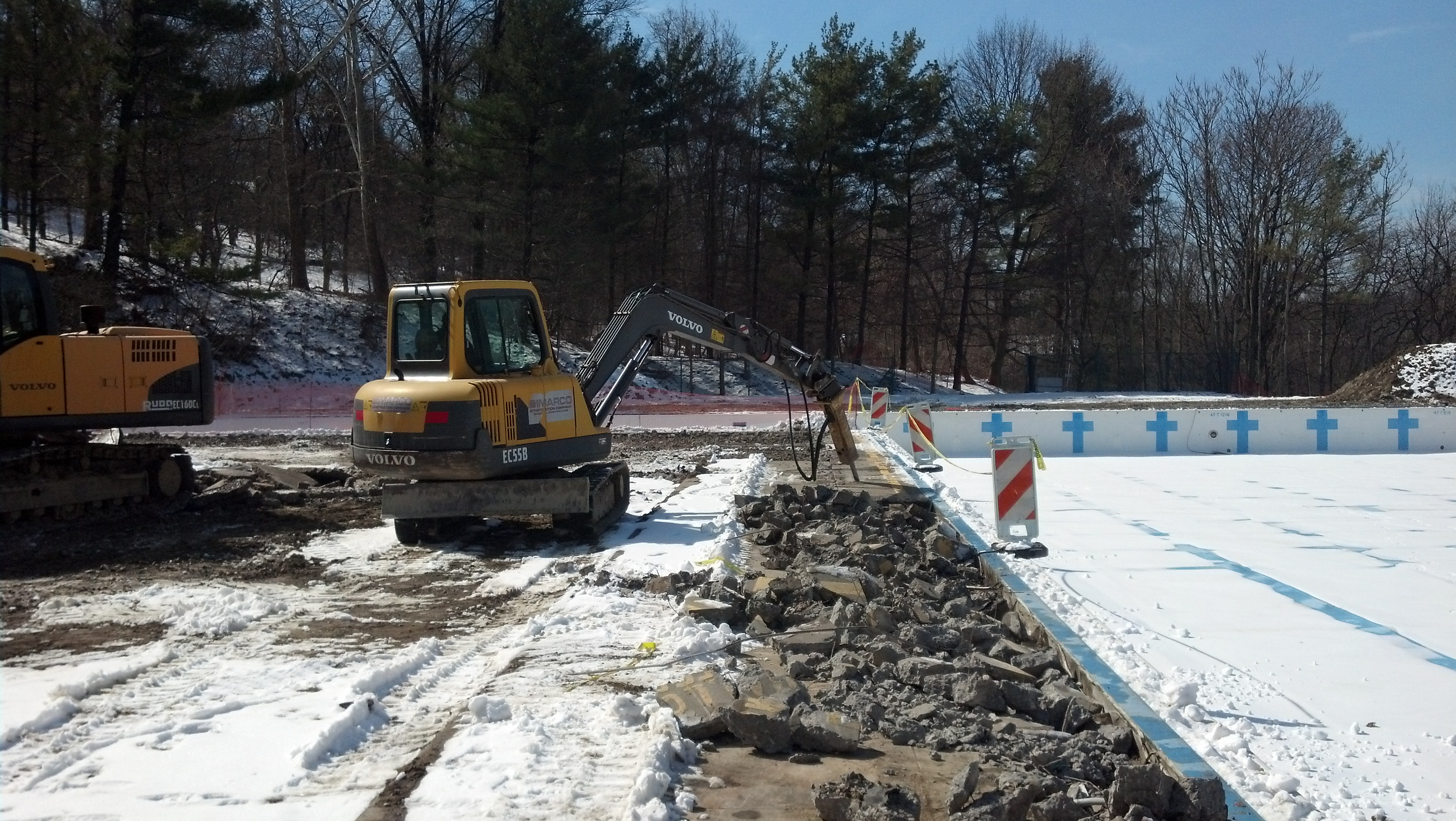 3-5-14 Pool Deck Removal