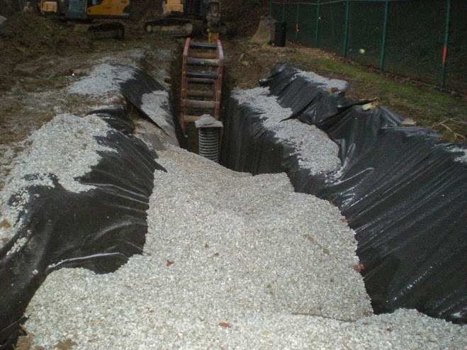Subsurface Drainage Installation